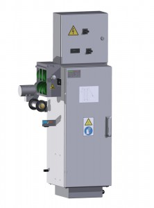 Thermal foil treatment unit